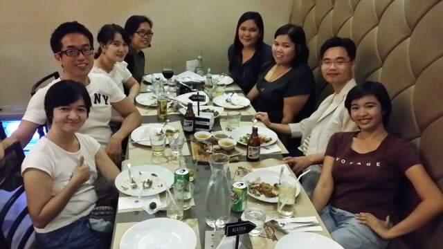 잉사모 강사님들과 즐거운 저녁식사~