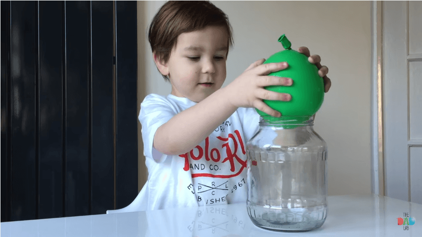 How To Suck A Water Balloon Into A Bottle