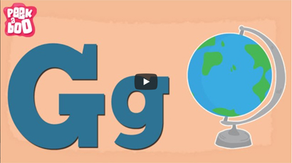 The G Song — Learn the Letters of the Alphabet