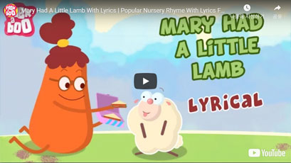 [영어동요] Mary Had A Little Lamb