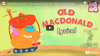 [영어동요] Old MacDonald Had A Farm