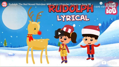[영어동요] Rudolph the Red Nosed Reindeer
