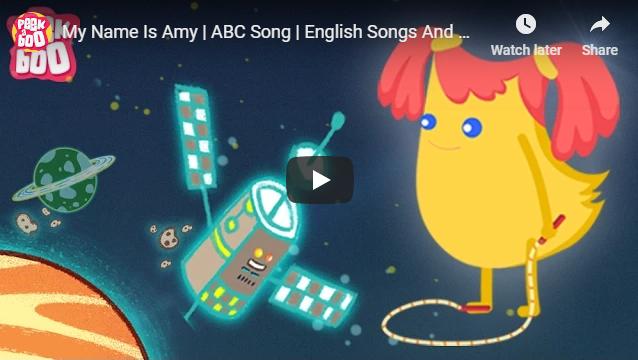 [영어동요] My Name Is Amy