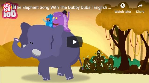 [영어노래] The Elephant Song With The Dubby Dubs