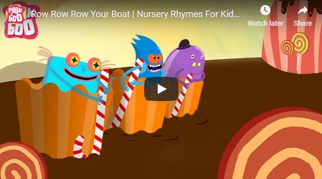 [영어동요] Row Row Row Your Boat