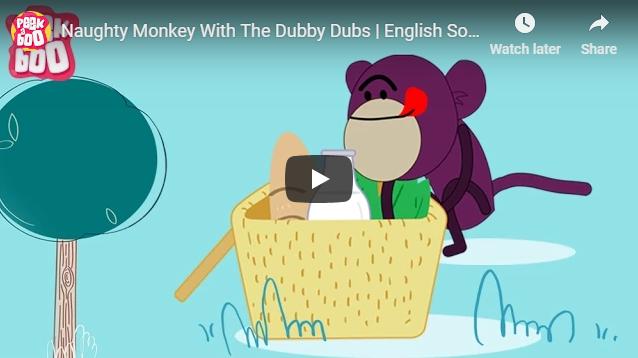 [영어노래] Naughty Monkey With The Dubby Dubs