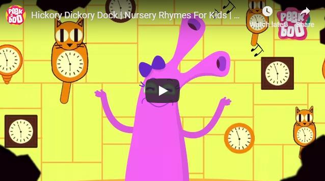 [영어노래] Hickory Dickory Dock