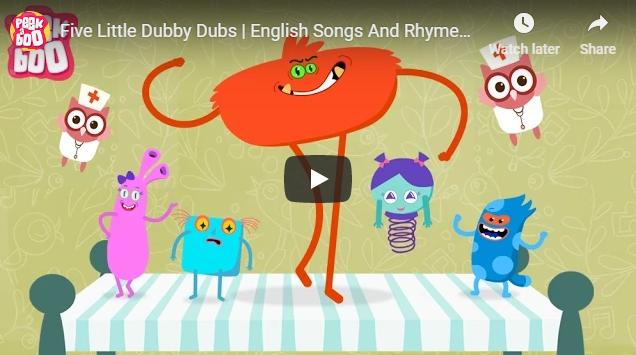 [영어노래] Five Little Dubby Dubs