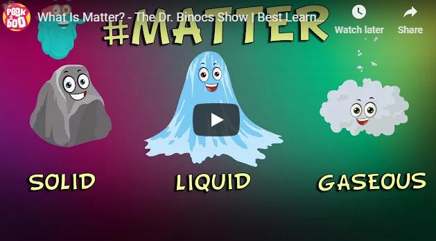 [영어 동영상] What Is Matter? - The Dr. Binocs Show