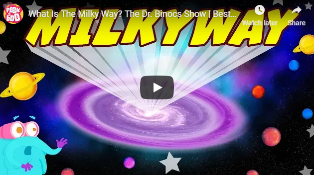 [영어동영상] What Is The Milky Way? The Dr. Binocs Show