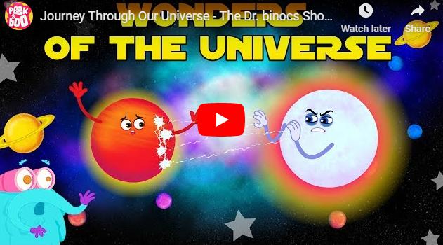 [영어동영상]Journey Through Our Universe - The Dr. binocs Show