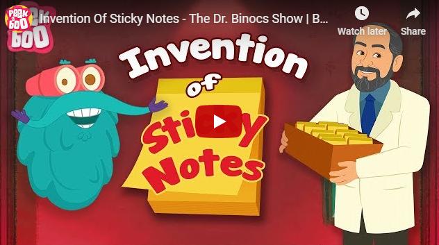 [영어동영상]Invention Of Sticky Notes