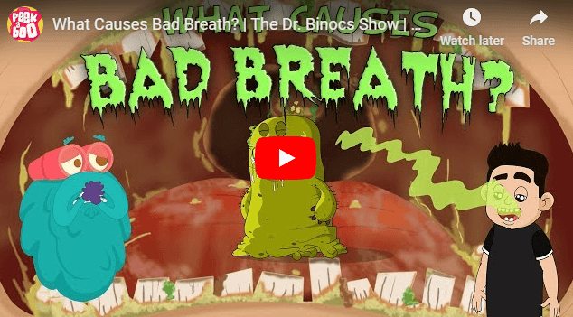 [영어동영상]What Causes Bad Breath?